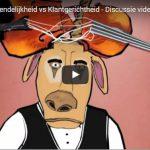 Onze nieuwste sales cartoon: Klantvriendelijkheid vs Klantgerichtheid
